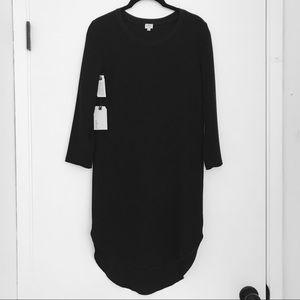 Aritzia Wilfred 100% Silk Lined Shirt Dress